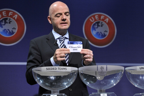 What time Champions League draw