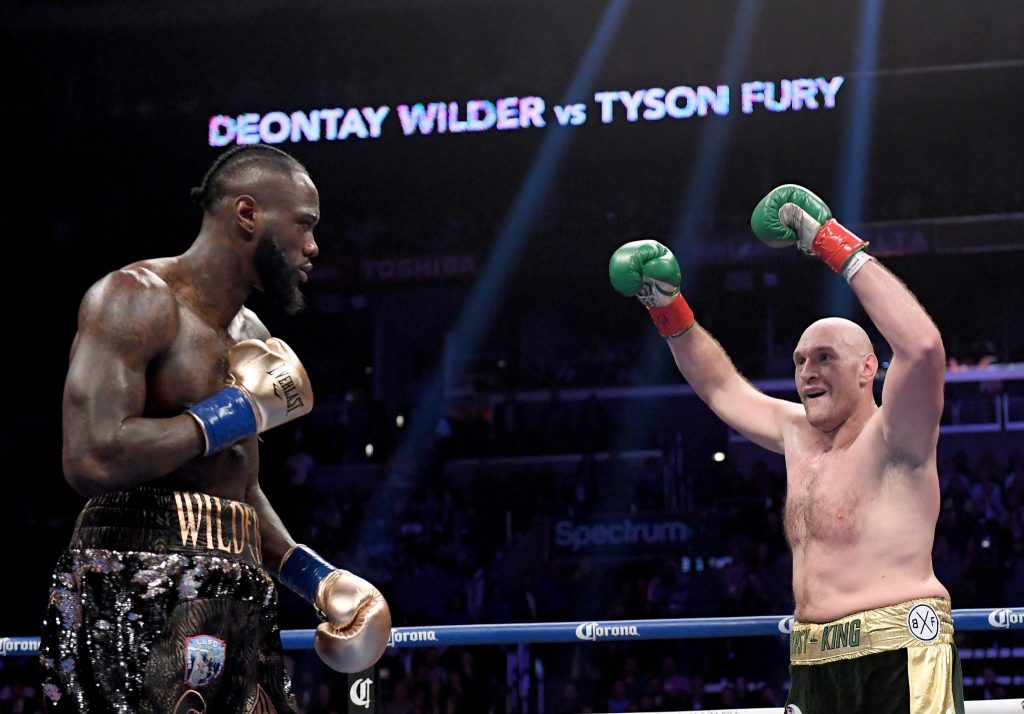 Tyson Fury's second clash with Deontay Wilder set for February 2020