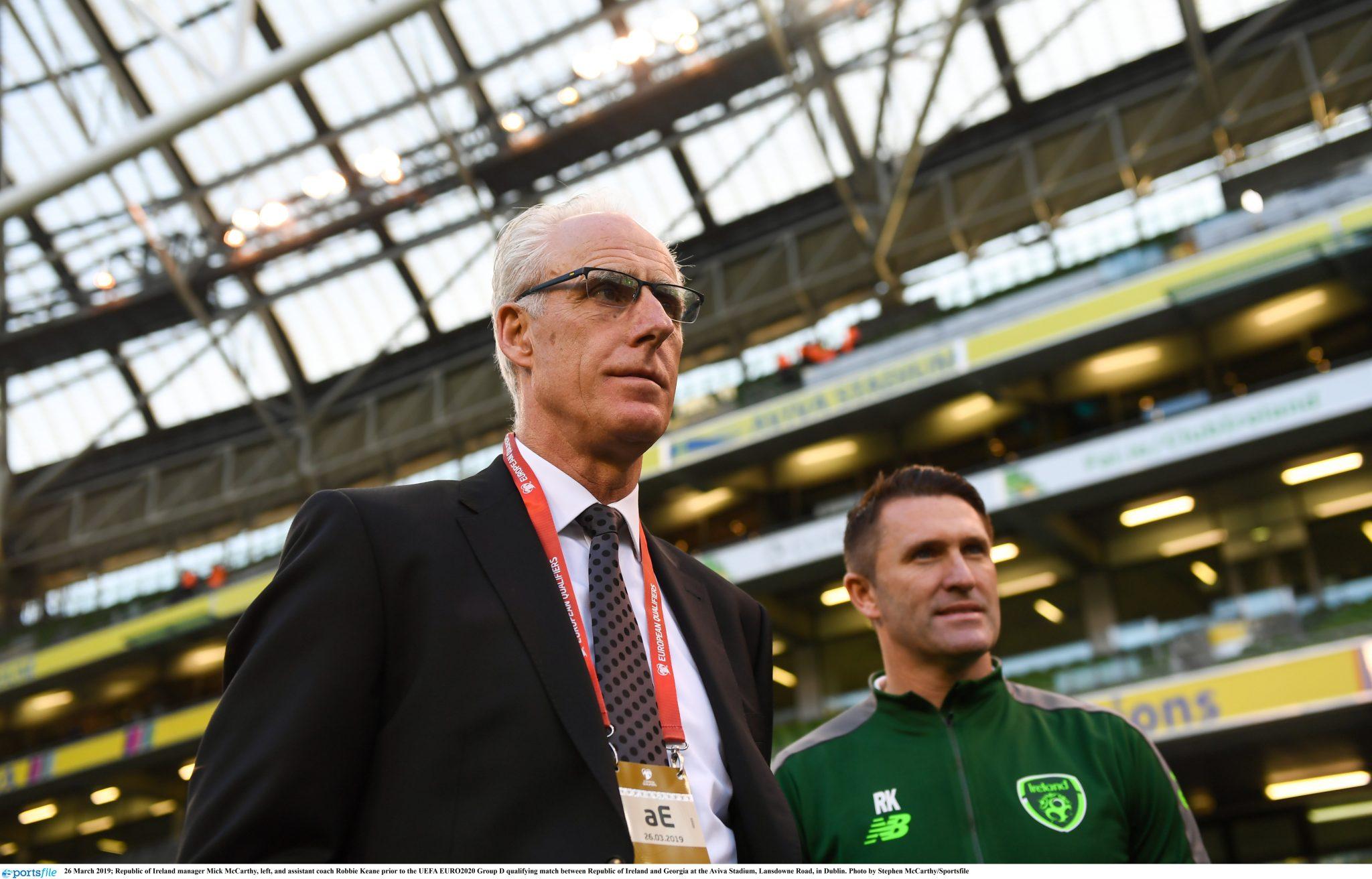 Mick McCarthy names Ireland team to play Georgia   SportsJOE ie