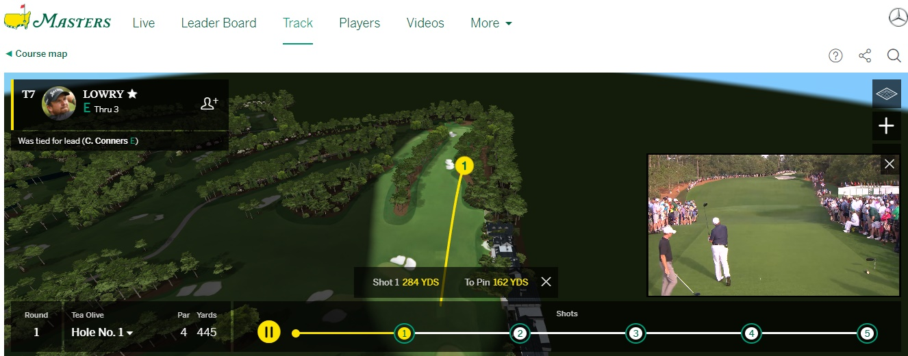 never miss a shot of this year u0026 39 s us masters with brilliant