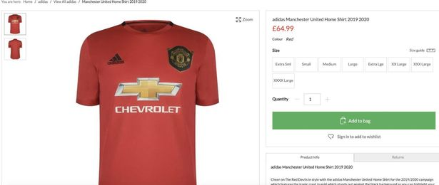 Manchester United Kit Leak Confirms Drastic Change To Crest Joe Co Uk