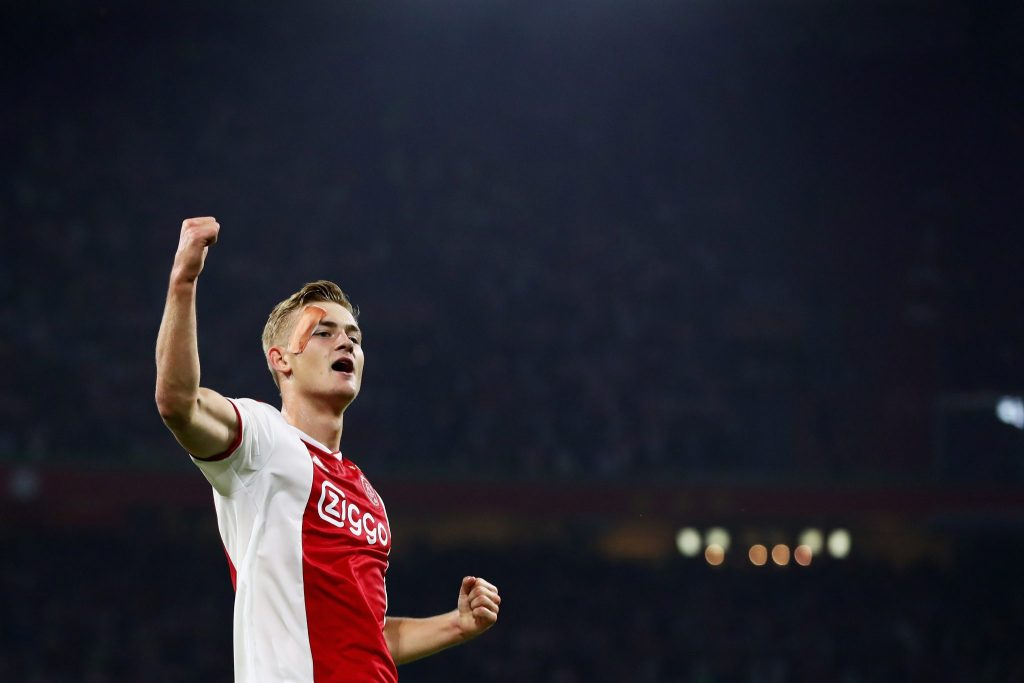 Manchester United didn't sign De Ligt due to fears over his weight