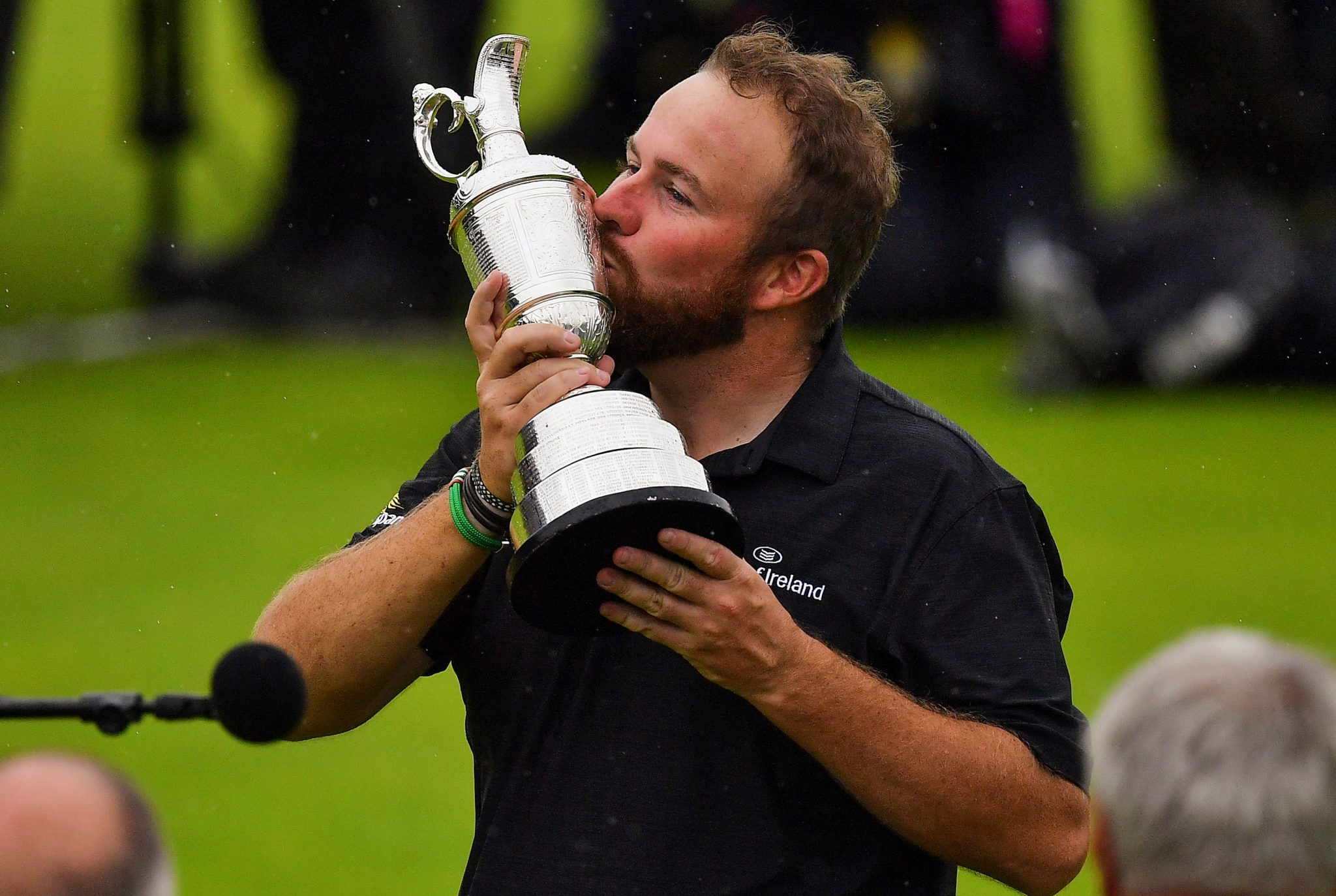 Shane Lowry becomes fifth Irishman to win Open Championship