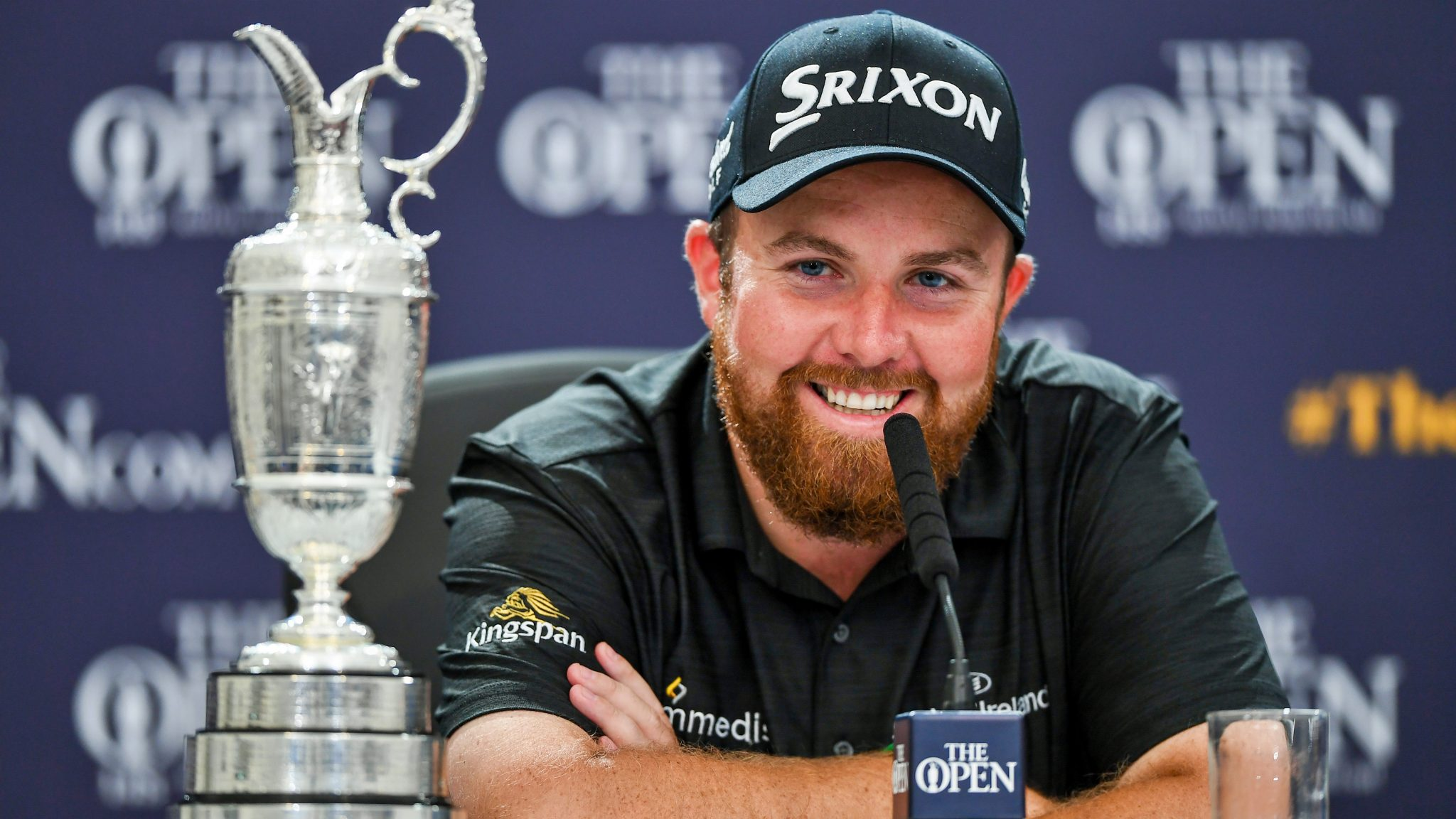 Lowry's British Open win caps off big golf year in majors