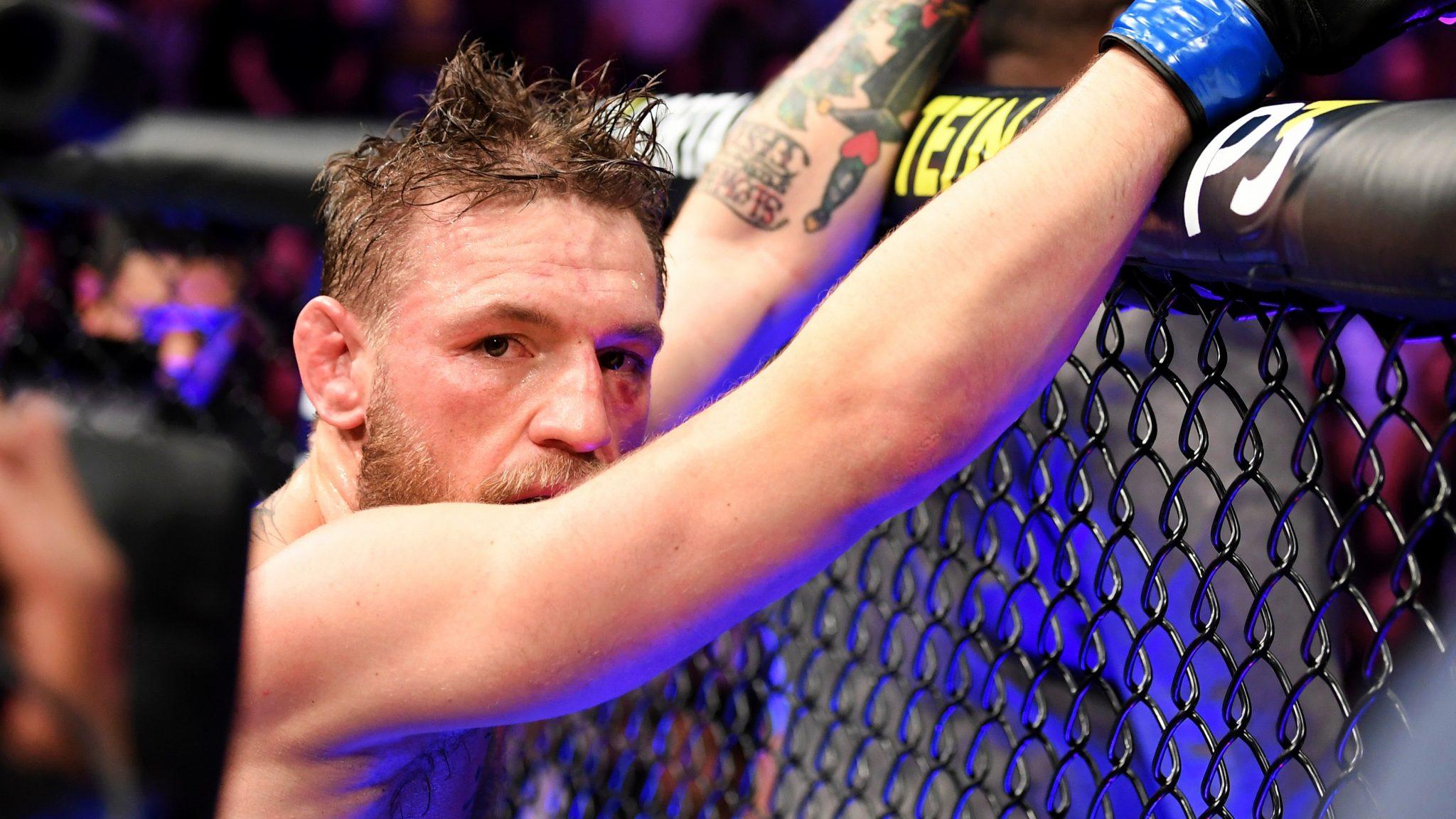 McGregor back