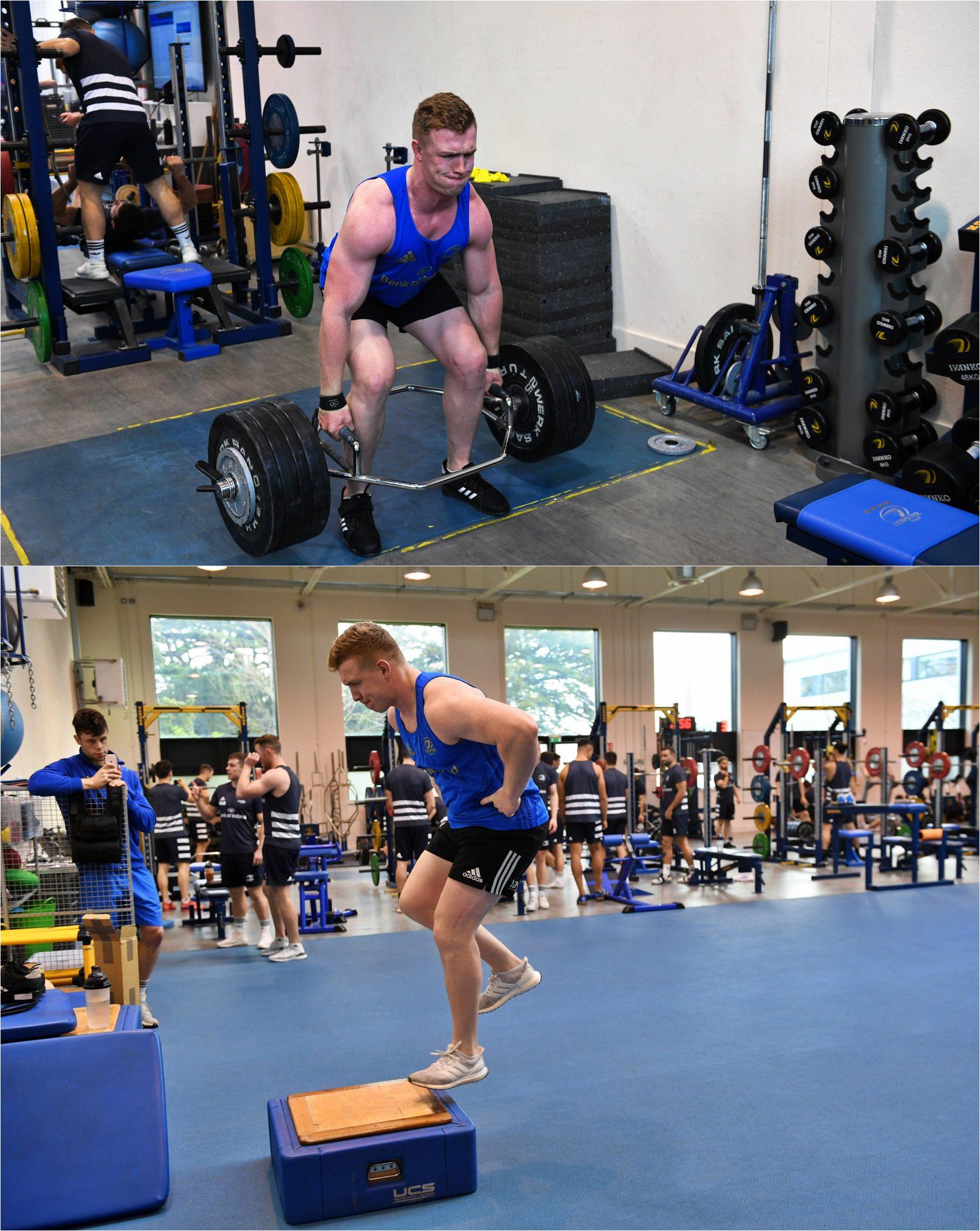 Dan Leavy gym